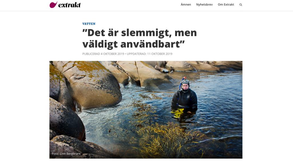 Photo Linn Bergbrandt extrakt.se